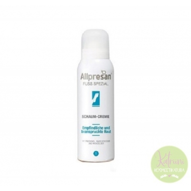 ALLPRESAN Fuss Spetzial Foot Foam Cream, 125 ml