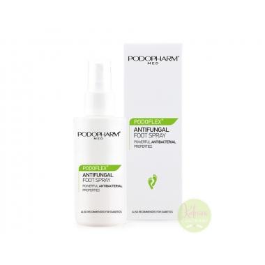 PODOPHARM PODOFLEX® ANTIFUNGAL FOOT SPRAY  jalasprei seenevastase toimega, 100 ml