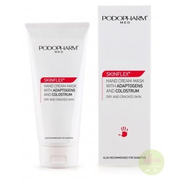PODOPHARM SKINFLEX® Hand cream-mask with adaptogens and colostrum, kreem-mask kätele ataptogeenide ja ternespiimaga, 75 ml
