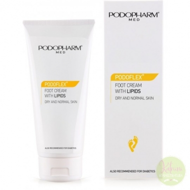 PODOPHARM PODOFLEX® FOOT CREAM WITH LIPIDS jalakreem lipiididega, 75 ml