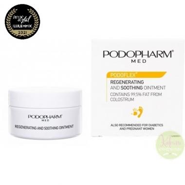 PODOPHARM PODOFLEX® REGENERATING AND SOOTHING OINTMENT ternespiimasalv, 60 ml