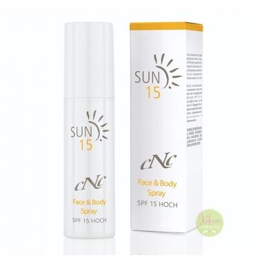 Sun Face & Body Spray SPF 15, 100 ml